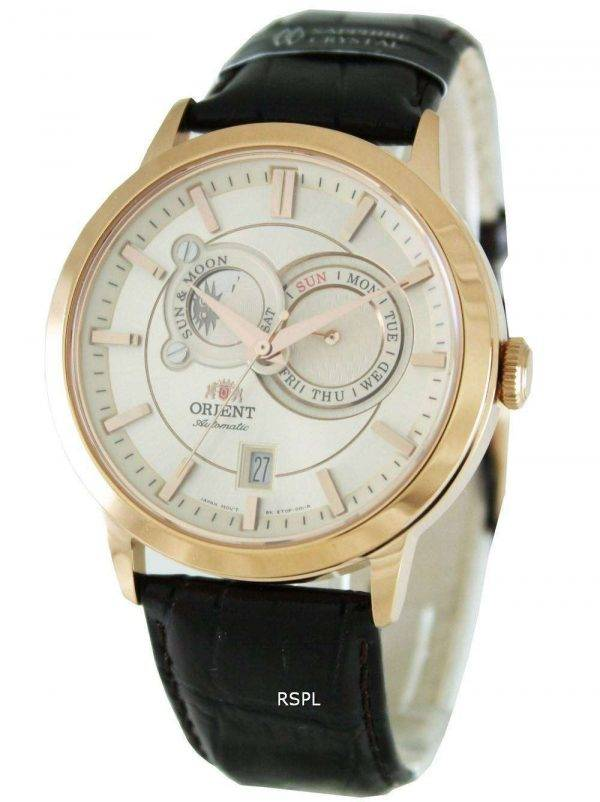 Orient Automatic Sun Moon Phases ET0P001W Men's Watch