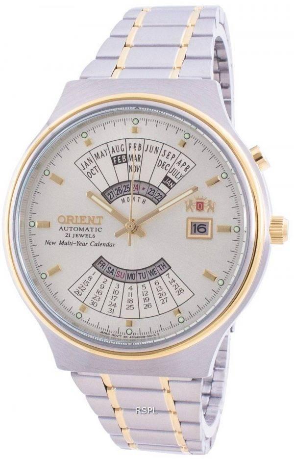 Orient Mechanical Contemporary FEU00000CW Multi-Year Calendar Men's Watch
