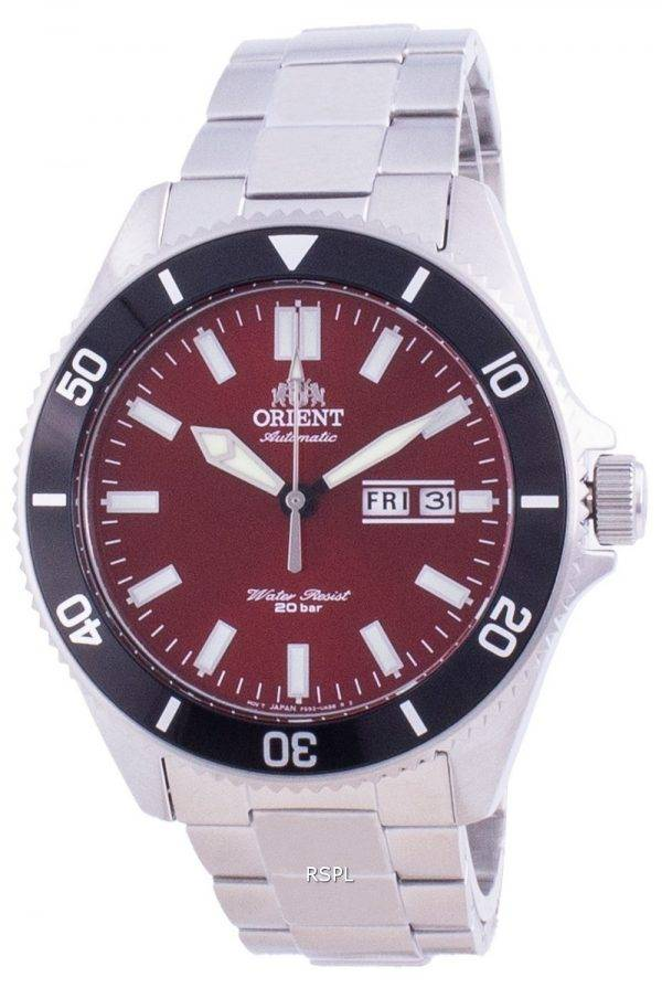 Orient Sports Diver Red Dial Automatic RA-AA0915R19B 200M Men's Watch
