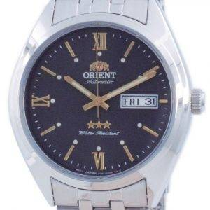 Orient Tri Star Grey Dial Stainless Steel Automatic RA-AB0E14N19B Men's Watch