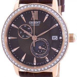 Orient Sun & Moon Phase Diamond Accents Automatic Japan Made RA-AK0005Y00C Women's Watch