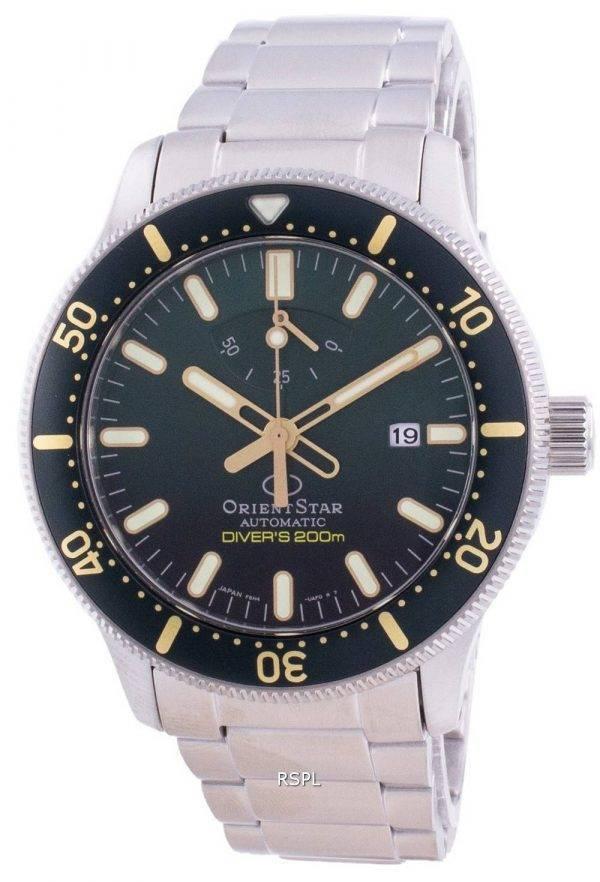 Orient Star Automatic Diver's RE-AU0307E00B Japan Made 200M Men's Watch