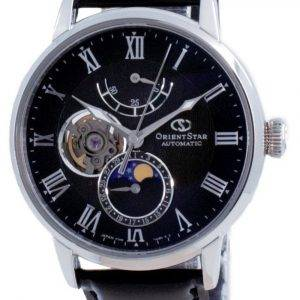 Orient Star Moon Phase Open Heart Automatic RE-AY0107N00B Men's Watch