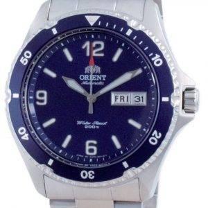 Orient Mako II Blue Dial Automatic Diver's SAA02002D3 200M Men's Watch